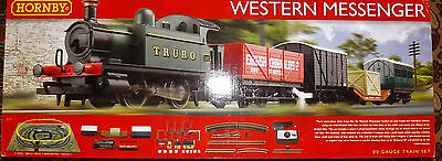 Hornby TRAIN SET THE WESTERN MESSENGER R1142 BNIB WITH TRACK PACK A