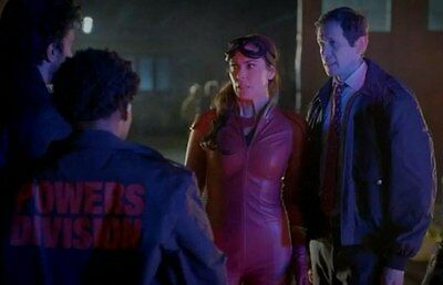 """Screen used & worn """"POWERS DIVISION"""" Jacket Prop From Powers TV Show Inc. COA"""