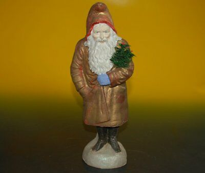 rare Belsnickle Candybox Santafrom Papiermaché * Germany at 1880