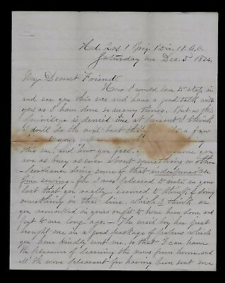 13th New Hampshire CIVIL WAR LETTER - Regiment Joins Army of the James NICE ONE!