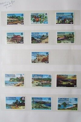 XL2805: Full Set (to $10) 1985 Grenada Mint Stamps
