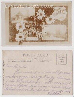 Early Postcard, Essex,Stanford Le Hope, Multi View Card, Old Houses, RP