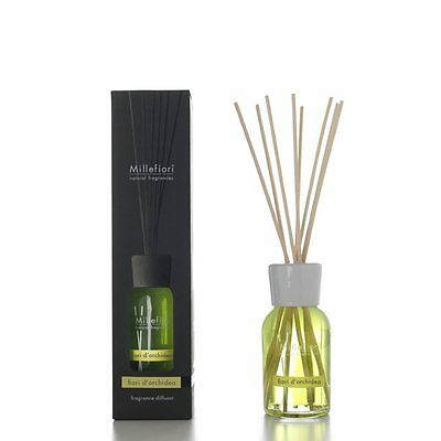 MILLEFIORI Natural Raumduft Diffuser 100 ml FIORI DI ORCHIDEA