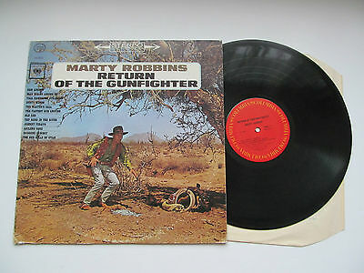 Marty Robbins - Return Of The Gunfighter. Usa Columbia Lp