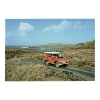 Land Rover Series Iii - Royal Mail Postbus On Route To Bettyhill P.o. Sutherland