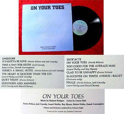LP  On Your Toes Jack Cassidy (1973)