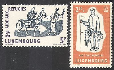 Luxembourg 1960 WRY/Refugees/Horse/Welfare 2v (n29031)