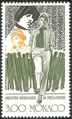 Monaco 1988 Clothes/Fashion/Costumes/Clothing Industry/Design 1v (n43068)