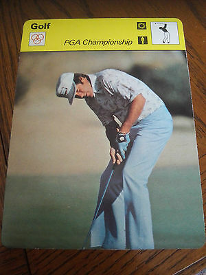 GOLF - Dave STOCKTON PGA Championship - Sportscaster Photo Fact Card