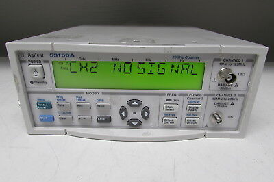 Agilent 53150A Microwave Frequency Counter/power meter 10Hz - 20GHz, Opt 001