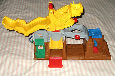 FISHER PRICE Little People Eddie and His Boulder REPLACEMENT Worksite Sandbox