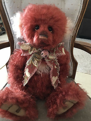 Charlie Bears Dreamkeeper 2016 Isabelle Mohair Collection FREE US SHIP