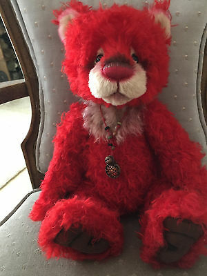 Charlie Bears Jackpot 2016 Isabelle Mohair Collection FREE US SHIP