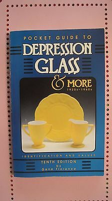Pocket Guide to Depression Glass.  1997 softcover book.
