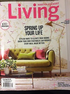 US Martha Stewart Living homes/house/lifestyle/interiors magazine, March 2017