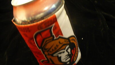 Bud light beer Coozie Koozie Ottawa Senators NHL insulated can cooler cover