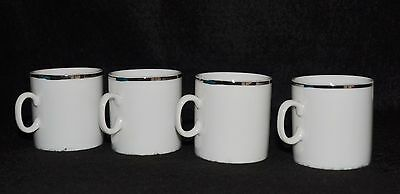 Eastern Airlines - First Class - Demitasse Cups- Lot Of 4  New
