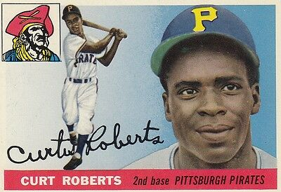 Topps 1955 #107 Curt Roberts-Pittsburgh Pirates