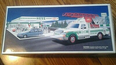 Hess Rescue Truck 1994 New In Box