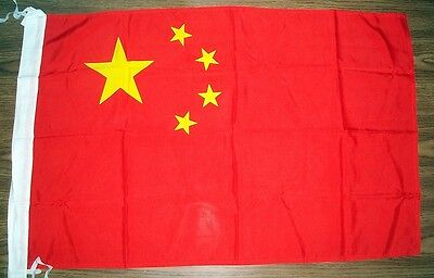 Peoples Republic of China Yellow Stars/ Red 24x38 Flag