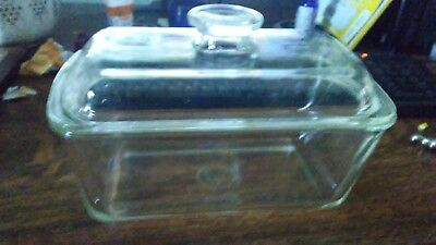 westinghouse glass clear refrigerator bowl with lid