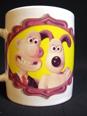 Vitnage Wallace and Gromit Coffee Mug Claymation W&G Ltd 1989