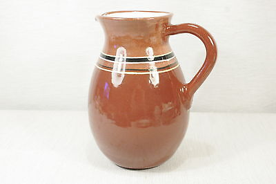 """Large FESTIN COQUIN Provence France Jug or Pitcher 8 1/2""""  EXC!"""