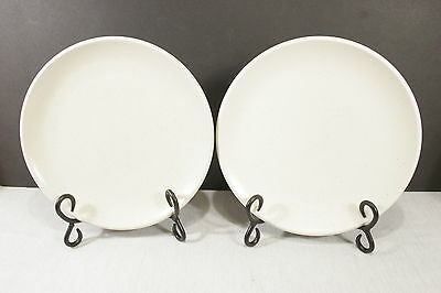 "LOT of 2 Calvin Klein Khaki Collection Cargo 9"" Luncheon / Salad Plates"