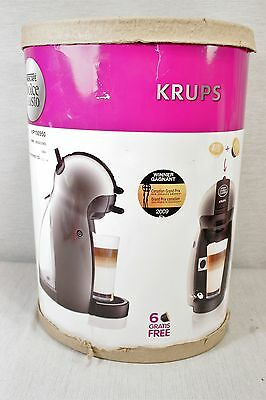 NEW! Nescafe Dolce Gusto KRUPS Piccolo Titanium Coffee Espresso Machine KP1009