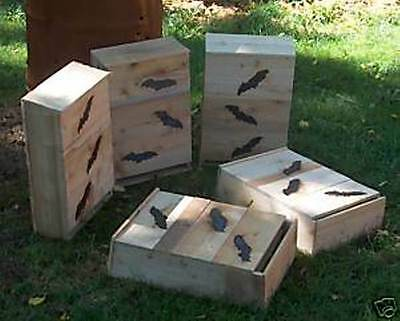 Bat House.BAT BOX. ONE=.6 CHAMBER.STOP DISEASE.ETC.FROM. mosquitos. BY. HOLLEY