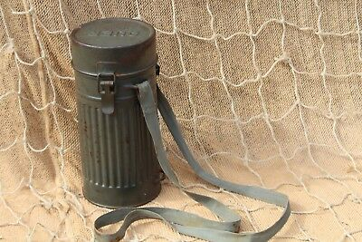 2WW German Army Gas Mask Container Auer RL1-38/3 strap good paint SUMMER SALE@@@