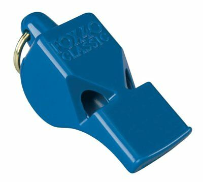 Fox 40 Classic Whistle - Referee Coach Safety Alert Dog Rescue Lifeguard - Blue