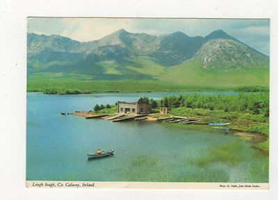 Lough Inagh Co Galway Ireland 1981 Postcard 984a