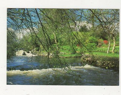 The River At Oughterard Co Galway Ireland Postcard 983a