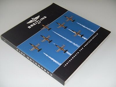 """Catalogue montres """"BREITLING Instruments for Professionals""""- TBE - Edition 2013"""