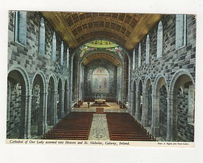 Cathedral Of Our Lady & St Nicholas Galway Ireland 1971 Postcard 987a