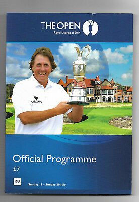 2014 British Open Golf Championship (ROYAL LIVERPOOL) Official Programme