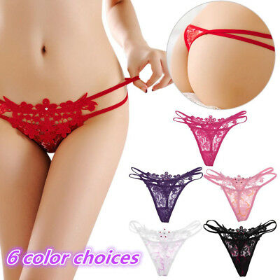 Fashion Women Sexy Underwear Thongs G-string V-string Panties Knickers Lingerie