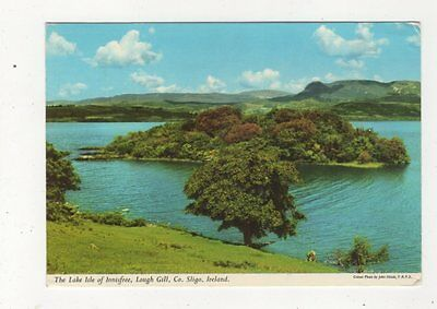 The Lake Isle Of Lough Gill Co Sligo Ireland 1974 Postcard 982a