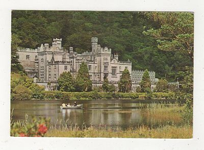 Kylemore Abbey Galway Ireland 1968 Postcard 987a