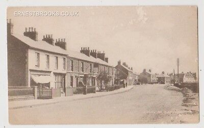 Early Postcard,Norfolk, Gaywood, Lynn Road, Old Shop E W Capps, Old Houses,