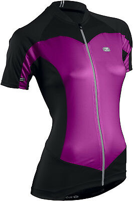 Sugoi Evolution Womens Bike Jersey Black/Passionfruit