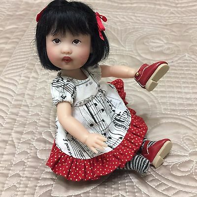 "Kish ~ 8"" Take Note Riki Doll ~ complete in box"