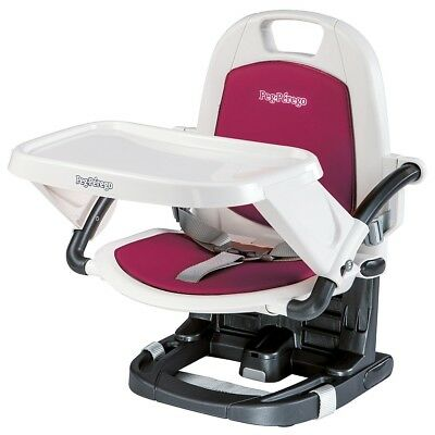 Peg Perego - Rialto Booster Chair - Berry