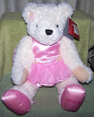 "FAO Schwarz BALLERINA BEAR 16"" Plush New"