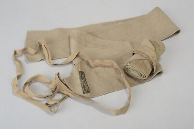 British Army Officer's mid C20th Tan Wool Puttees. XVZ
