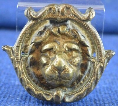 Lovely Vintage Brass ''Lion Head'' Architectural Door Knocker RDL325
