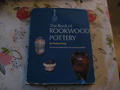 The Book Of Rookwood Pottery By Hebert Peck  Book