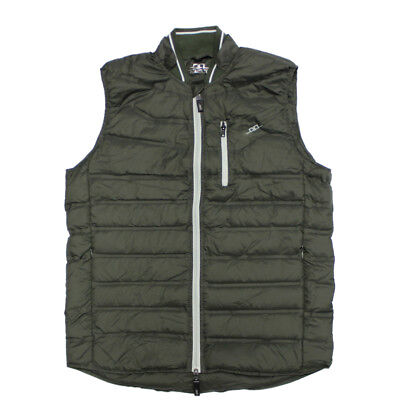 Alessandro Albanese Men's Livorno Down Gilet - Pine Grove - Differ Sizes - SALE!