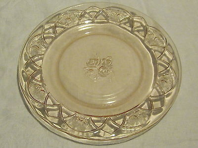 Federal Glass Rosemary Pink Dinner Plates (4)